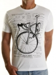 T-shirt Cycology Cognitive Therapy White