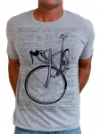 T-shirt Cycology Cognitive Therapy Grey