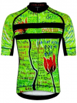 Cycology Day Of The Living Red Men's Cycling Jersey (1)
