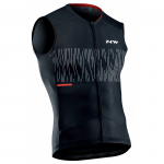 Northwave Storm Air Men's Jersey Sleeveless Black / White