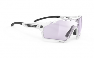 Okulary Rudy Project CUTLINE White Gloss - ImpactX Photochromic 2 Laser Purple