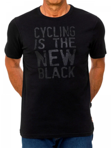 T-shirt Cycology Cycling is the New Black