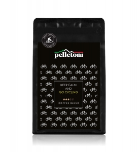 Kawa Pelletoni Keep Calm and Go Cycling 200g Mielona