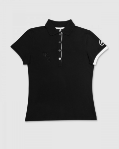 Polo Assos Corporate Lady SS Block Black/White