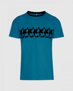 T-shirt Assos Signature Summer RS Griffe Adamant Blue