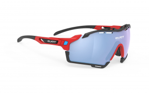 Okulary Rudy Project CUTLINE Racing Fire Red Matte - Multilaser Ice