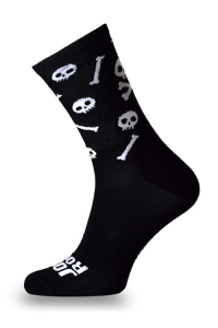 Crazybiker Jolly Roger Cycling Socks