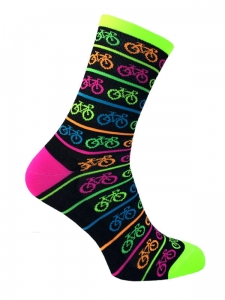 Neon Bike Stylówa.PRO Cycling Socks Black