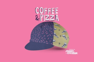 Bello Cyclist Coffee & Pizza Cycling Cap