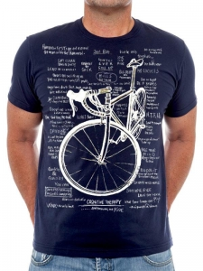 T-shirt Cycology Cognitive Therapy Navy