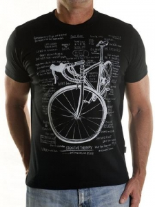 T-shirt Cycology Cognitive Therapy Black