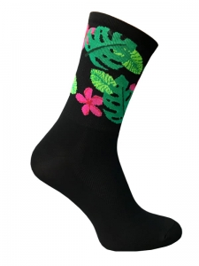 TROFEO. Tropical Zen Cycling Socks