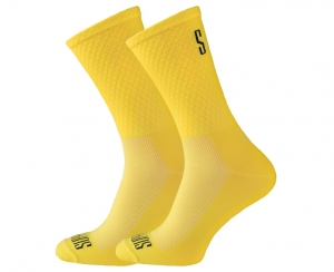 Support Sport Yellow's Cycling Socks