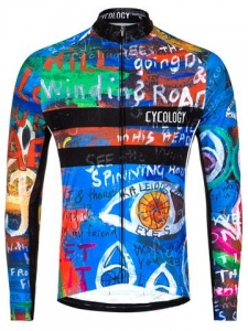 Cycology 8 days Men's Long Sleeve Jersey