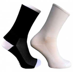 Trofeo 2-Way Black or White Cycling Socks