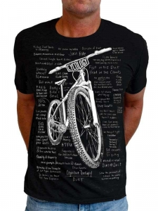 T-shirt Cycology Cognitive Therapy Dirt Czarna