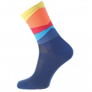 AM Cycling Dark Blue Socks