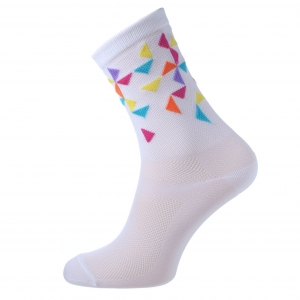 AM Cycling White Cycling Socks II