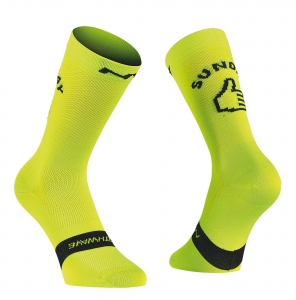 Northwave Sunday Monday Fluo Socks (1)