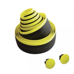 Fluo Black/Yellow Cinelli Bar Tape