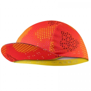 Czapeczka kolarska AM Cycling Red Flame