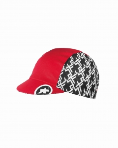 ASSOS Cycling Cap GT National Red Lightweight