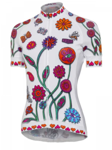 Cycology Boho Women's Cycling Jersey White NEW