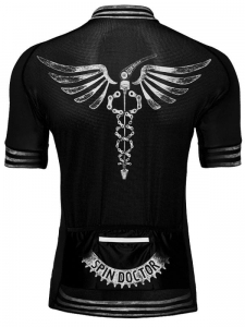 Cycology Spin Doctor Men's Jersey Black