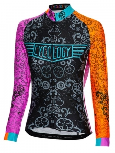 Cycology Extra Lucky Chain Women's Long Sleeve Jersey