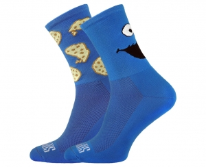 Someone Blue Support Sport Cycling Socks