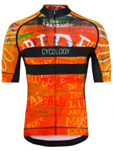 Cycology Day Of The Living Red Men's Cycling Jersey (1) (1) (1)