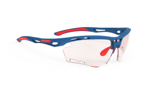 Okulary Rudy Project Propulse Pacific Blue Matte - Impactx Photochromic 2 Red
