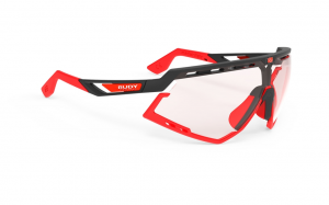 Okulary Rudy Project Defender Black Matte - ImpactX Photochromic 2 Red