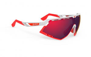 Okulary Rudy Project Defender White Gloss - RP Optics Multilaser Red