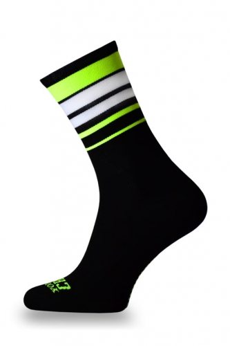 Crazybiker Toxic Guacamole Cycling Socks